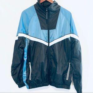 Vintage Lavon nylon track jacket sz L